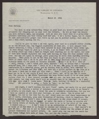 Letter from Katherine Anne Porter to Paul Porter Jr., March 16, 1944