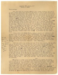 Letter from Katherine Anne Porter to Delafield Day Spier, February 17, 1931