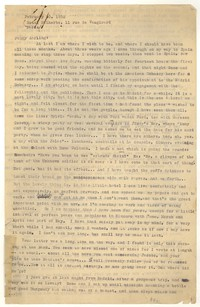 Letter from Katherine Anne Porter to Peggy Cowley, February 20, 1932