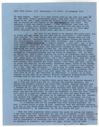 Letter from Katherine Anne Porter to Eudora Welty, December 23, 1965