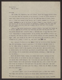 Letter from Katherine Anne Porter to Eugene Pressly, May 05, 1934
