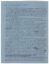 Letter from Katherine Anne Porter to Eudora Welty, June 07, 1956