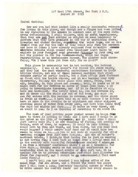 Letter from Katherine Anne Porter to Isabel Bayley, August 30, 1953