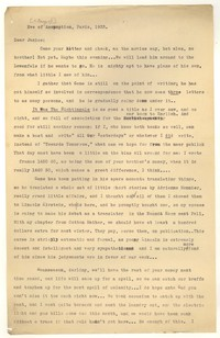 Letter from Katherine Anne Porter to Janice Biala, August 15, 1933