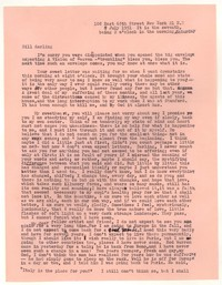 Letter from Katherine Anne Porter to William Goyen, July 07, 1951