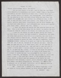 Letter from Katherine Anne Porter to David and Donald B. Heintze, January 21, 1975