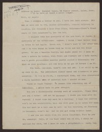 Letter from Katherine Anne Porter to Gay Porter Holloway, circa February 1928