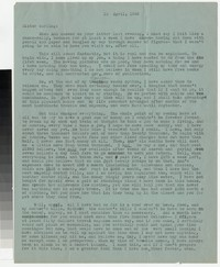Letter from Katherine Anne Porter to Gay Porter Holloway, April 12, 1945
