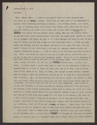 Letter from Katherine Anne Porter to Eugene Pressly, May 02, 1934