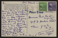 Letter from Katherine Anne Porter to Paul Porter Jr., September 16, 1953