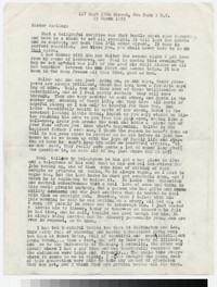 Letter from Katherine Anne Porter to Gay Porter Holloway, March 23, 1953