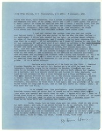 Letter from Katherine Anne Porter to Glenway Wescott, January 04, 1966