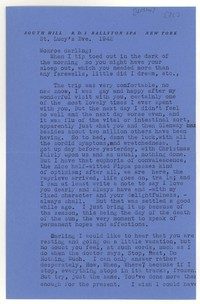 Letter from Katherine Anne Porter to Monroe Wheeler, December 13, 1942