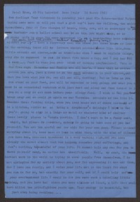 Letter from Katherine Anne Porter to Ann Holloway Heintze, March 16, 1963