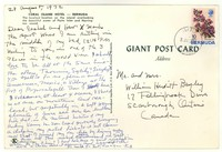 Letter from Katherine Anne Porter to Isabel Bayley and W. Hewitt Bayley, August 28, 1972
