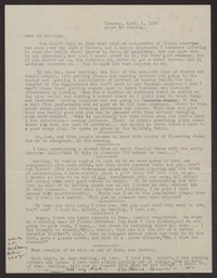 Letter from Katherine Anne Porter to Albert Erskine, April 05, 1938