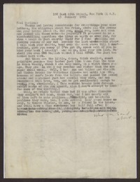 Letter from Katherine Anne Porter to Paul Porter Jr., January 13, 1951