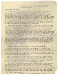 Letter from Katherine Anne Porter to Ford Maddox Ford and Janice Biala, January 25, 1936