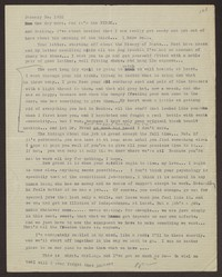 Letter from Katherine Anne Porter to Eugene Pressly, January 30, 1932