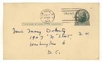 Letter from Katherine Anne Porter to Mary Louis Doherty, January 01, 1945