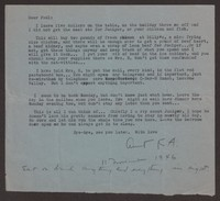 Letter from Katherine Anne Porter to Paul Porter Jr., November 11, 1946