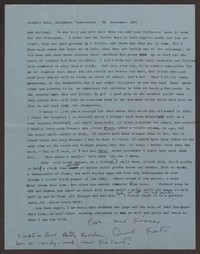 Letter from Katherine Anne Porter to Ann Holloway Heintze, September 30, 1957