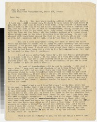 Letter from Katherine Anne Porter to Gay Porter Holloway, June 06, 1933