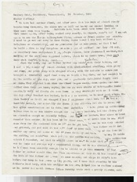Letter from Katherine Anne Porter to Gay Porter Holloway, October 16, 1955