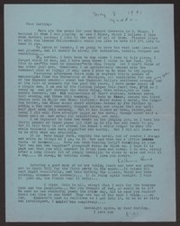 Letter from Katherine Anne Porter to Albert Erskine, May 08, 1941