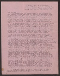 Letter from Katherine Anne Porter to Paul Porter Jr., August 24, 1949