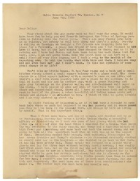 Letter from Katherine Anne Porter to Delafield Day Spier, June 07, 1930