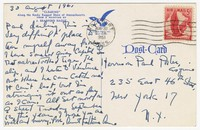 Letter from Katherine Anne Porter to Paul Porter Jr., August 30, 1961