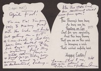 Letter from Katherine Anne Porter to Paul Porter Jr., April 01, circa 1957