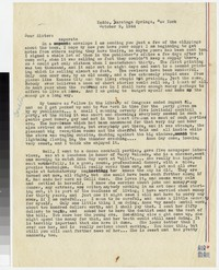 Letter from Katherine Anne Porter to Gay Porter Holloway, October 09, 1944