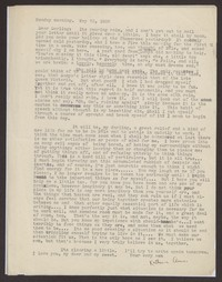 Letter from Katherine Anne Porter to Eugene Pressly, May 23, 1932
