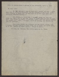 Letter from Katherine Anne Porter to Eugene Pressly, April 02, 1936