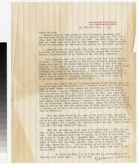 Letter from Katherine Anne Porter to Gay Porter Holloway, March 17, 1948