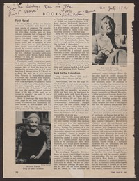 Letter from Katherine Anne Porter to Gay Porter Holloway, July 26, 1961