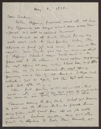 Letter from Katherine Anne Porter to Albert Erskine, May 09, 1939