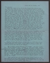 Letter from Katherine Anne Porter to Albert Erskine, May 26, 1941