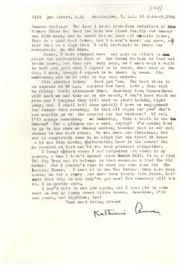 Letter from Katherine Anne Porter to Monroe Wheeler, January 13, 1960