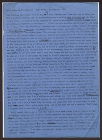 Letter from Katherine Anne Porter to Paul Porter Jr., February 22, 1963