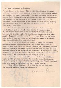 Letter from Katherine Anne Porter to Robert Penn Warren and Eleanor Clark Warren, July 19, 1955