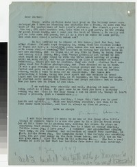 Letter from Katherine Anne Porter to Gay Porter Holloway, July 11, 1947