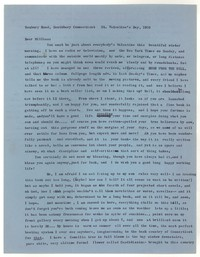 Letter from Katherine Anne Porter to William Humphrey, February 14, 1958