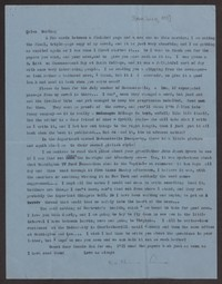 Letter from Katherine Anne Porter to Helen Greenwell, circa August 21, 1958