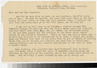 Letter from Katherine Anne Porter to Gay Porter Holloway and Harrison B. Porter, June 16, 1929