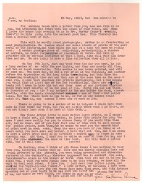 Letter from Katherine Anne Porter to William Goyen, May 10, 1951