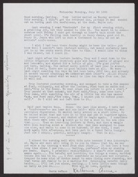 Letter from Katherine Anne Porter to Albert Erskine, July 20, 1938