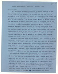 Letter from Katherine Anne Porter to Monroe Wheeler, January 11, 1957